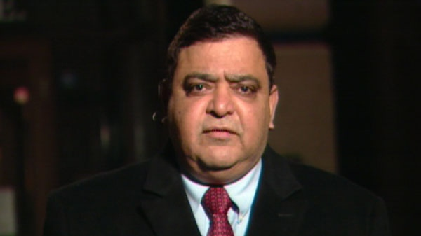 Deepak Obhrai, the parliamentary secretary to the minister of foreign affairs, appears on CTV's Canada AM, Thursday, March 17, 2011.