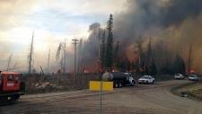 Nordegg fire, may 2013