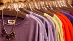 A rack of colorful clothing is displayed in this 2013 file photo. (AP / Toby Talbot)