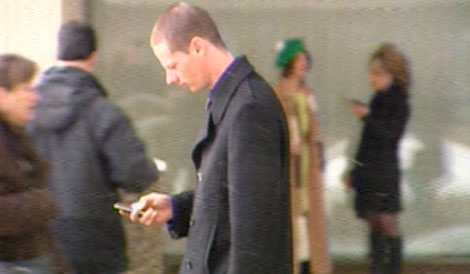 James Andrew Brooks, 25, is shown leaving the Edmonton courts on Thursday, March 17, 2011.