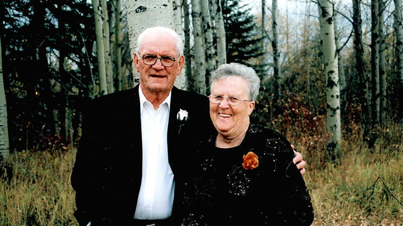 Neil Holmes, 84, and his wife Pearl, 80, are shown in an undated photo. Supplied.