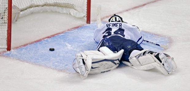 Toronto Maple Leafs James Reimer
