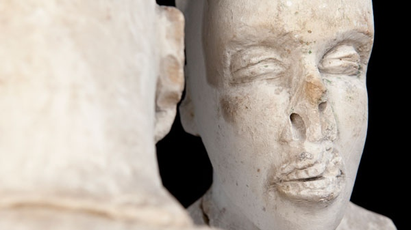 For more than a decade Concordia University has investigated the origins of a mysterious sculpture known as The Starving of Saqqara. (Concordia University)