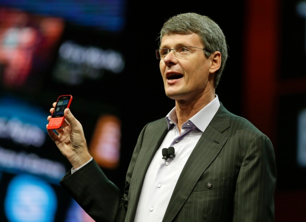 Thorsten Heins at BlackBerry Live Event