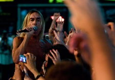 Iggy Pop performs at NXNE festival in Toronto