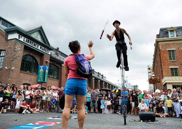 Scotiabank BuskerFest in Toronto