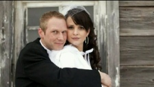 Tim Bosma and wife