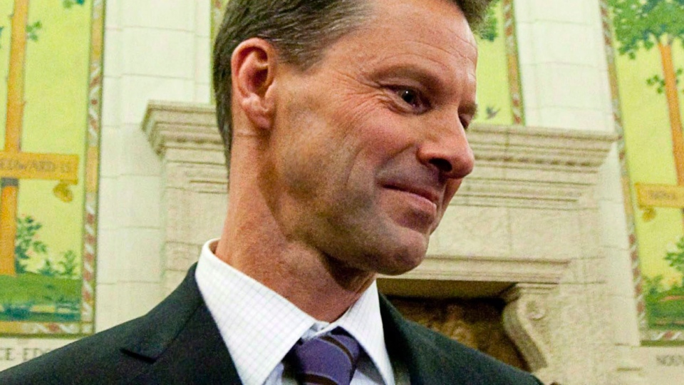 Nigel Wright, then-chief of staff for Prime Minister Stephen Harper, appears as a witness at the Standing Committee on Access to Information, Privacy and Ethics on Parliament Hill in Ottawa on Tuesday, Nov. 2, 2010. (Sean Kilpatrick / THE CANADIAN PRESS)