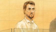 Dellen Millard appears in a Toronto court