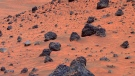 This image released by NASA's Jet Propulsion Laboratory was taken by the Mars Exploration Rover Spirit April 13, 2006.