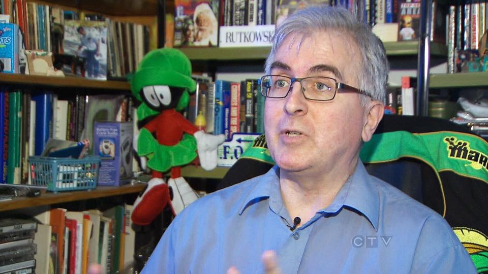 UFOlogy research coordinator Chris Rutkowski speaks to CTV News Wednesday, May 15, 2013.