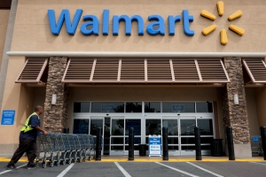 A Walmart store is shown in this file photo. (AP / Jae C. Hong)