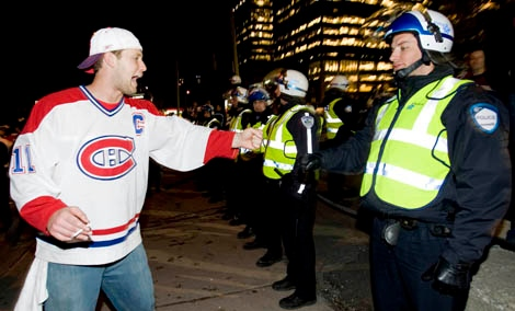 huge selection of 47e9f 6008b Montreal Canadiens fans are the pits: GQ magazine | CTV News