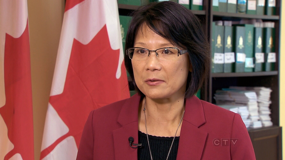 NDP MP Olivia Chow speaks with CTV News from Toronto, Thursday, May 16, 2013
