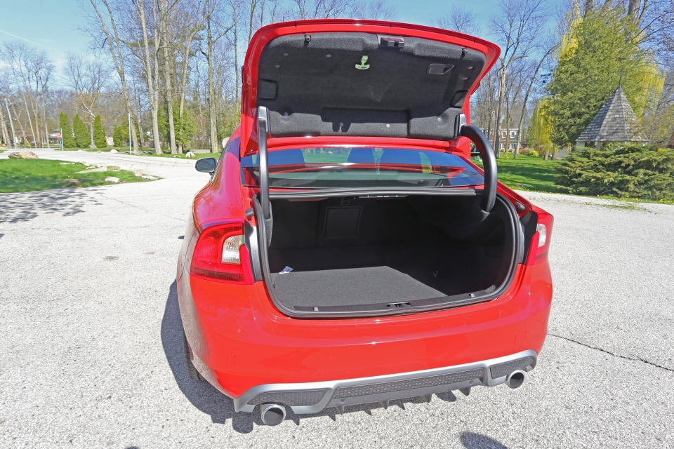The trunk is easy to load and has ample space.  Additionally, you can fold the rear seats flat to give yourself even more room. (Bill Wang/CTVNews.ca)