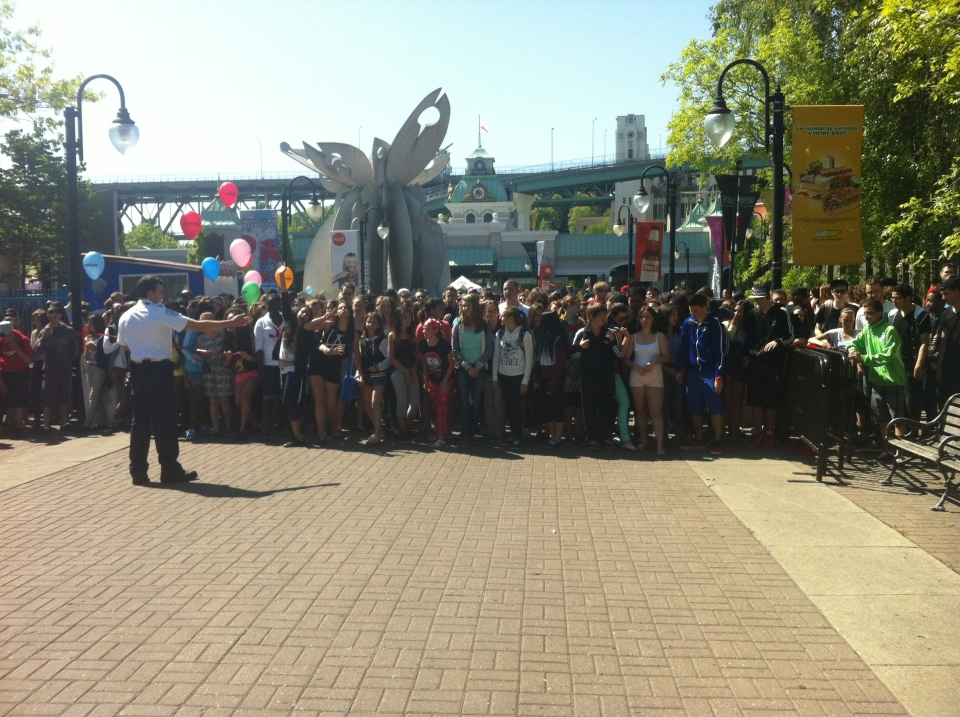 La Ronde opened Saturday for its 47th season (CTV Montreal / Aphrodite Salas)