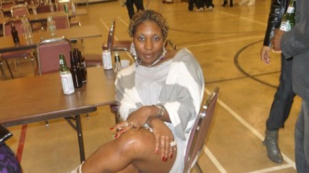 Natasha Jeffrey, 37, is one of two people who were found dead in a house on Roblin Boulevard on Friday. (Photo courtesy Facebook)