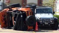 Spectator killed during Jeep demonstration