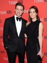 "Actor and singer Justin Timberlake and wife actress Jessica Biel attend the TIME 100 Gala celebrating the ""100 Most Influential People in the World"" at Jazz at Lincoln Center on Tuesday April 23, 2013 in New York. (Evan Agostini / Invision)"
