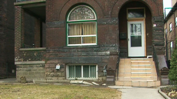 George Wass was attacked on the front porch of this home near the intersection of Queen St. West and Jameson Ave. in Toronto's Parkdale neighbourhood.