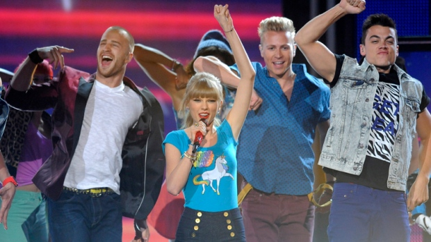 Taylor Swift leads at Billboard Music Awards