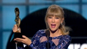 CTV News Channel: Taylor Swift sweeps awards