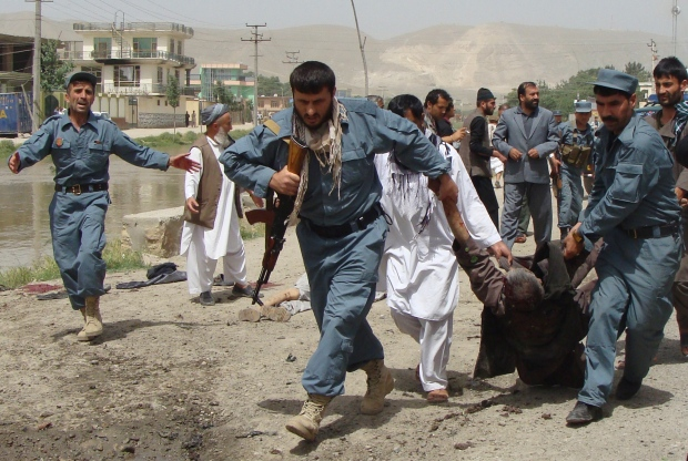 Suicide bombing in northern Afghanistan