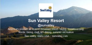 The Sun Valley Twitter handle is now being used by the resort, but a  former Wall Street derivatives analyst is fighting to get it back. (Twitter.com)