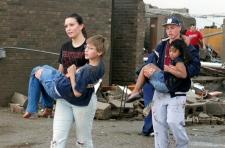 School tornado school children