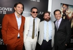 "From left, Bradley Cooper, director Todd Phillips, Zach Galifianakis, and Ed Helms pose together at the LA Premiere of ""The Hangover: Part III"" at the Westwood Village Theatre on Monday, May 20, 2013 in Los Angeles. (Matt Sayles  /Invision)"