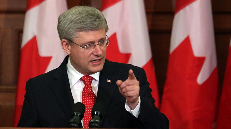 Harper addresses Senate spending scandal