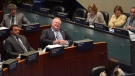 Mayor Rob Ford sits during a City council meeting at Toronto City Hall, Tuesday May 21, 2013. (Nathan Denette / THE CANADIAN PRESS)