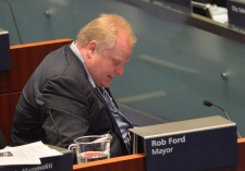 Mayor Rob Ford city council