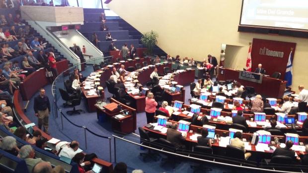 Toronto city council debate