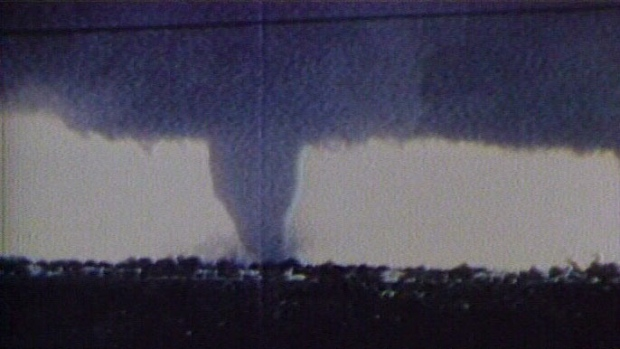 The worst tornado in Ontario was this one in Barrie in 1985.