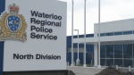 The new North Division headquarters of the Waterloo Regional Police Service is seen at Weber and Columbia streets in Waterloo, Ont., on Tuesday, May 21, 2013. (David Imrie / CTV Kitchener)