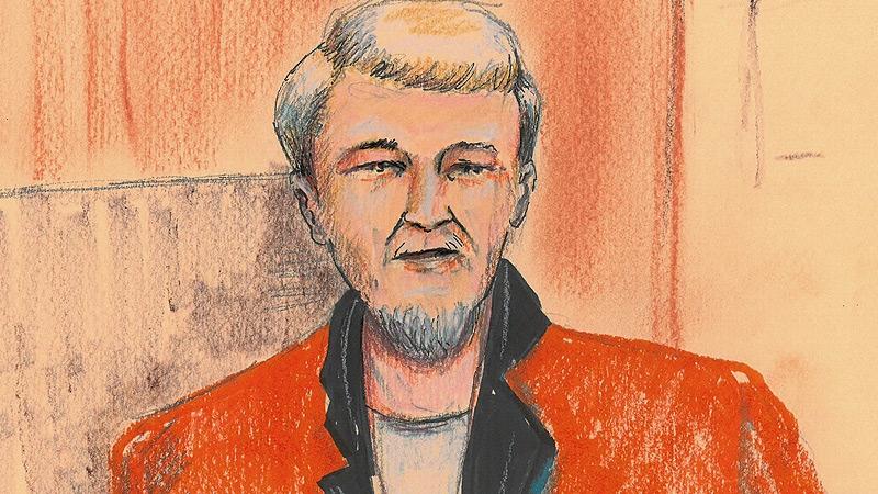 Richard Suter court sketch
