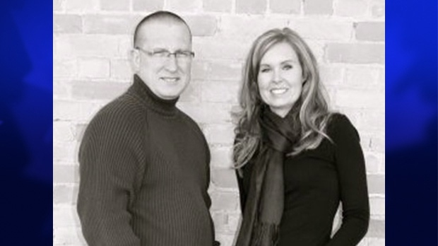 Undated photo of Martin and Krista Bouchard