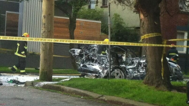 car explosion vancouver west end
