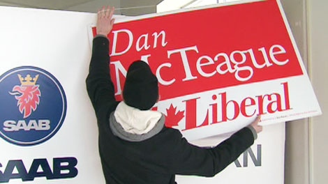 Candidates in Toronto are getting ready for a federal election campaign. March 24, 2011.