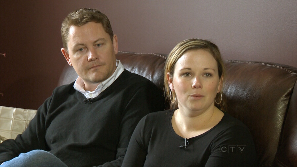 Chris Procunier and his wife Jennifer Procunier speak with CTV News about the accusations