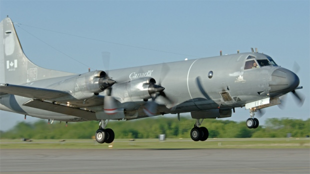 A CP-140 Aurora is seen in this undated image courtesy the Department of National Defence.