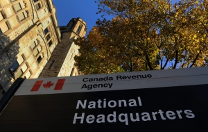 The Canada Revenue Agency headquarters in Ottawa is shown on Friday, November 4, 2011. (Sean Kilpatrick / THE CANADIAN PRESS)