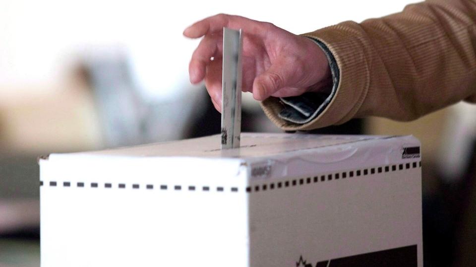 Voting file photo