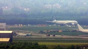 Diverted Pakistani plane lands safely