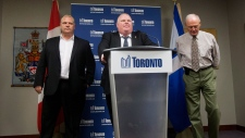 Rob Ford, Doug Ford address allegations