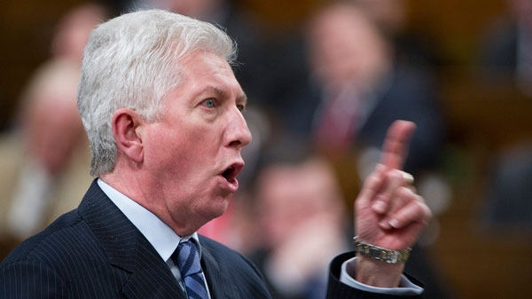 Bloc Quebecois leader Gilles Duceppe asks a question during Question Period in the House of Commons on Parliament Hill in Ottawa on Friday, March 25, 2011.(Sean Kilpatrick  / THE CANADIAN PRESS)