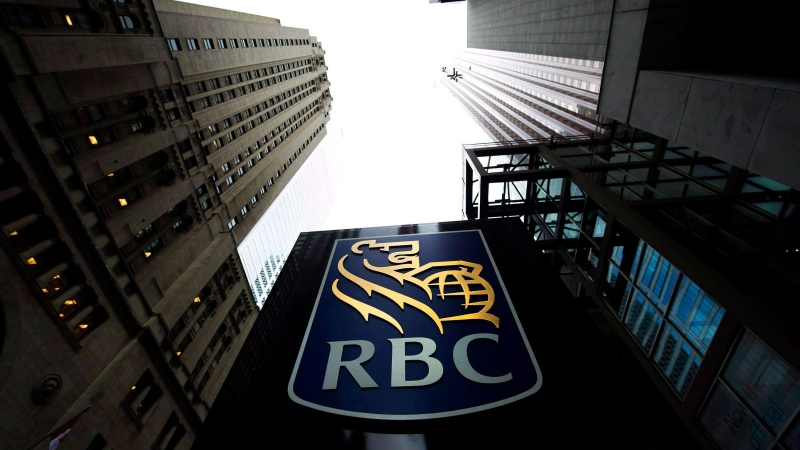 A Royal Bank of Canada sign is pictured in downtown Toronto on Dec. 2, 2011. (Nathan Denette / THE CANADIAN PRESS)
