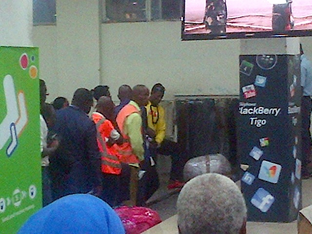 Lisa LaFlamme arrives in Kinshasa, DRC