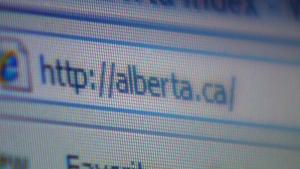 Alberta Government website